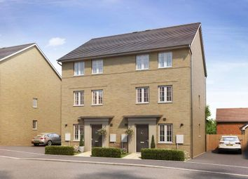 "Thumbnail 3 bedroom semi-detached house for sale in ""Stambourne"" at Marsh Lane, Harlow"