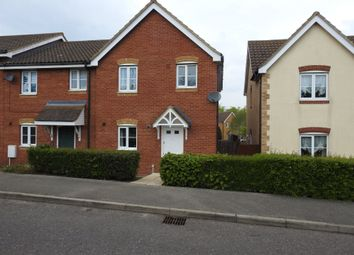 Thumbnail 3 bed end terrace house to rent in Brook Farm Road, Saxmundham