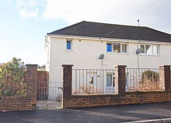 Thumbnail 3 bed semi-detached house for sale in West View Crescent, Trelewis, Treharris