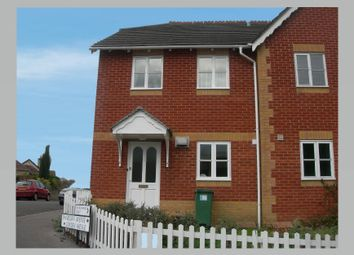 Thumbnail 3 bed semi-detached house to rent in Churchward Court, Spanbourn Avenue, Chippenham