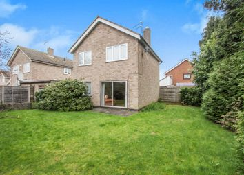 Thumbnail 3 bed detached house for sale in Pevensey Avenue, Evington, Leicester