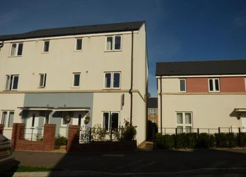 Thumbnail 4 bed end terrace house for sale in Cranbrook, Exeter, Devon