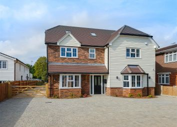 Thumbnail 5 bed detached house for sale in Wyatts Green Road, Wyatts Green, Brentwood