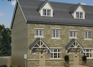 Thumbnail 4 bed town house for sale in Woodlands, Calverley Lane, Leeds, West Yorkshire