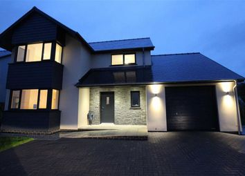 Thumbnail 4 bed detached house for sale in Llandre, Bow Street