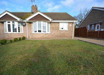 Thumbnail 2 bedroom semi-detached bungalow for sale in Stubbs Wood, Gunton, Lowestoft