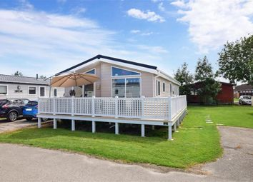 Thumbnail 3 bed mobile/park home for sale in Vinnetrow Road, Chichester, West Sussex