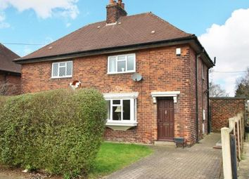 Thumbnail 2 bedroom semi-detached house for sale in Manor Road, Killamarsh, Sheffield, Derbyshire
