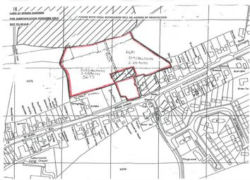 Thumbnail Land for sale in Spring Gardens, Whitland, Carmarthenshire