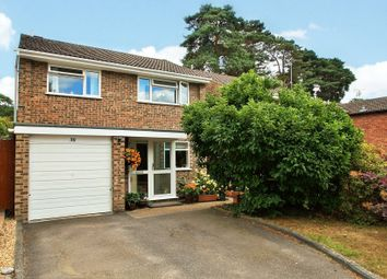 Thumbnail 4 bed detached house for sale in Balliol Way, Owlsmoor, Sandhurst, Berkshire