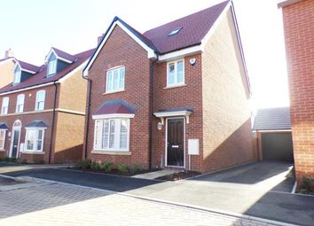 Thumbnail 4 bed detached house for sale in Curacao Crescent, Newton Leys, Bletchley, Milton Keynes