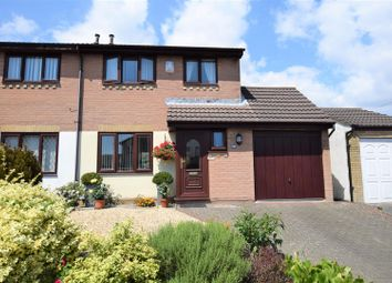 Thumbnail 3 bed semi-detached house for sale in Churchfields, Barry