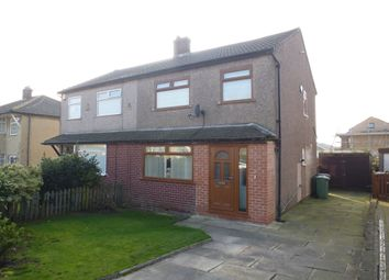 Thumbnail 3 bed semi-detached house for sale in Tyersal Walk, Tyersal, Bradford