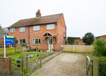 Thumbnail 3 bed semi-detached house for sale in Prospect Terrace, Newton On Ouse, York