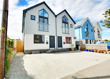 Thumbnail 3 bed semi-detached house for sale in Eirene Avenue, Goring-By-Sea, Worthing, West Sussex