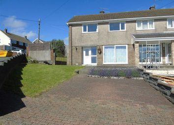 Thumbnail 3 bed semi-detached house for sale in Brynheulog, Felinfoel, Llanelli
