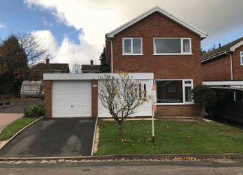 Thumbnail 3 bed detached house to rent in Boningale Close, Stirchley, Telford