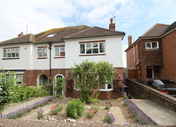 Thumbnail 3 bed semi-detached house for sale in Longland Road, Old Town, Eastbourne