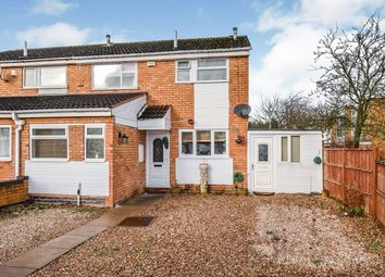 Thumbnail 4 bed terraced house for sale in Lewis Close, Leicester