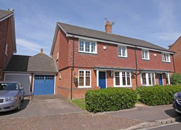 Thumbnail 3 bed semi-detached house for sale in Barley Close, Wallingford