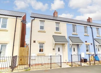 Thumbnail 2 bed end terrace house for sale in Heol Stradling, Coity, Bridgend.