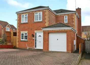 Thumbnail 4 bed detached house for sale in Cross Waters Close, Wootton, Northampton