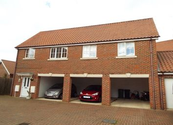 Thumbnail 2 bedroom flat to rent in Greenland Avenue, Wymondham