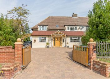 Thumbnail 4 bed semi-detached house for sale in Little Hormead, Buntingford