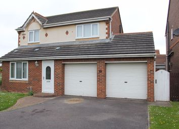 Thumbnail 3 bed detached house for sale in Fieldfare Road, Hartlepool