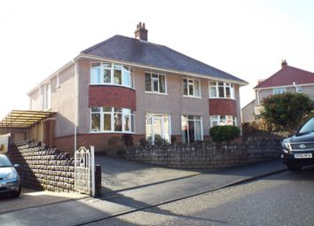 Thumbnail 4 bed semi-detached house for sale in Mayals Avenue, Mayals, Swansea
