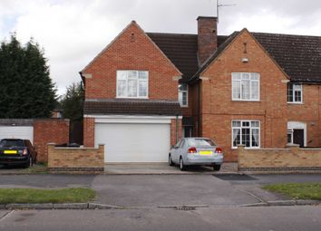 Thumbnail 4 bed semi-detached house to rent in Braunstone Avenue, Leicester