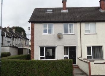 Thumbnail 3 bedroom end terrace house to rent in Hertford Crescent, Lisburn