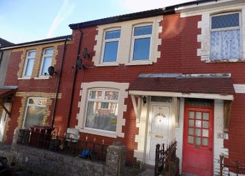 Thumbnail 3 bed terraced house for sale in The Avenue, Pontycymer, Bridgend.