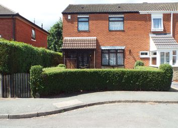 Thumbnail 3 bedroom end terrace house for sale in Great Hampton Street, Wolverhampton