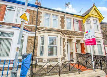 Thumbnail 2 bedroom terraced house for sale in Moorland Road, Splott, Cardiff