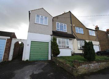 Thumbnail 4 bedroom semi-detached house to rent in Rollo Road, Hextable, Swanley