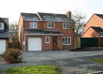 Thumbnail 4 bed detached house for sale in Glendinning Way, Madeley