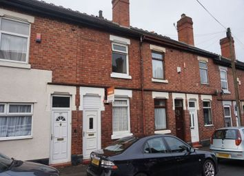 Thumbnail 2 bed terraced house for sale in Duke Street, Heron Cross, Stoke-On-Trent, Staffordshire