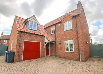 Thumbnail 4 bed detached house for sale in Private Lane, Normanby-By-Spital, Lincolnshire