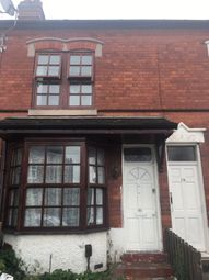 Thumbnail 3 bed terraced house to rent in Swanage Road, Birmingham