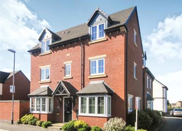 Thumbnail 4 bed detached house for sale in John Frear Drive, Syston, Leicester, Leicestershire