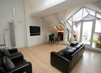 Thumbnail 2 bed flat to rent in Castle Quay, Manchester