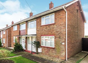 Thumbnail 3 bedroom semi-detached house for sale in Glebe Road, Stilton, Peterborough