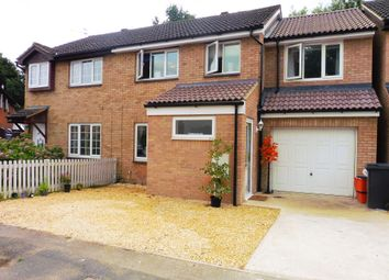 Thumbnail 4 bed semi-detached house for sale in Lapwing Close, Swindon