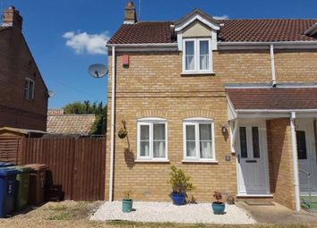 Thumbnail 2 bedroom semi-detached house for sale in Kempston Court, High Street, Chatteris, Cambridgeshire