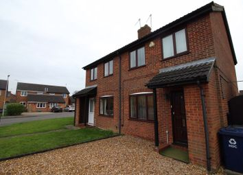 Thumbnail 3 bedroom semi-detached house to rent in Salters Way, Sawtry, Huntingdon