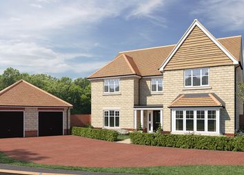 """Thumbnail 5 bed detached house for sale in """"The Brettingham"""" at Moormead Road, Wroughton, Swindon"""