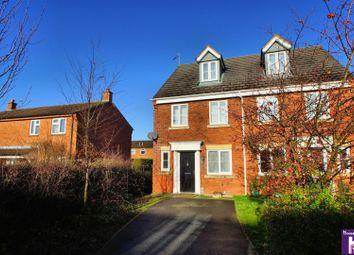 Thumbnail 3 bed town house for sale in Siskin Drive, Cheltenham
