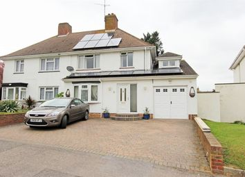 Thumbnail 4 bed semi-detached house for sale in Manor Grove, Sittingbourne, Kent