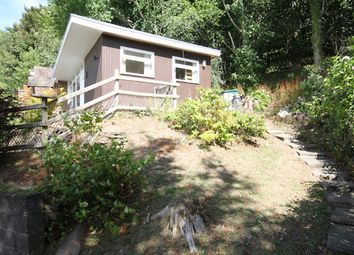 Thumbnail 2 bed lodge for sale in Woodlands, Bryncrug Gwynedd